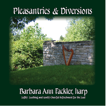 healing, soothing, calming music: iTunes download: solo harp CD