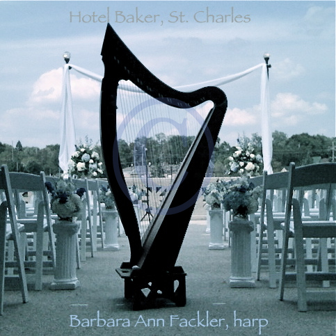 celtic harp for outdoor weddings Chicago Illinois