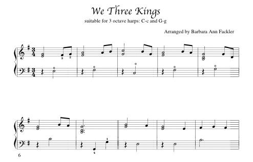 Harp Sheet Music Partituras De Arpa Harfenmusik Partitions De